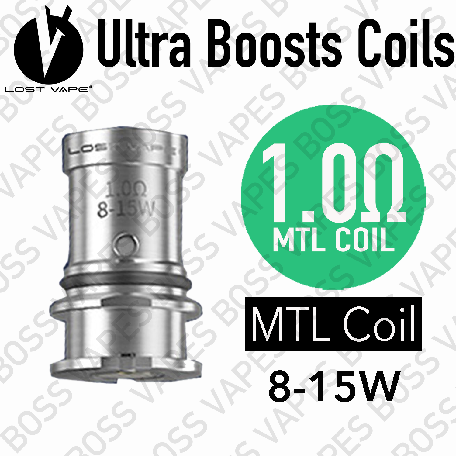 Lost Vape Ultra Boost Coils (Price per Coil) - Boss Vapes