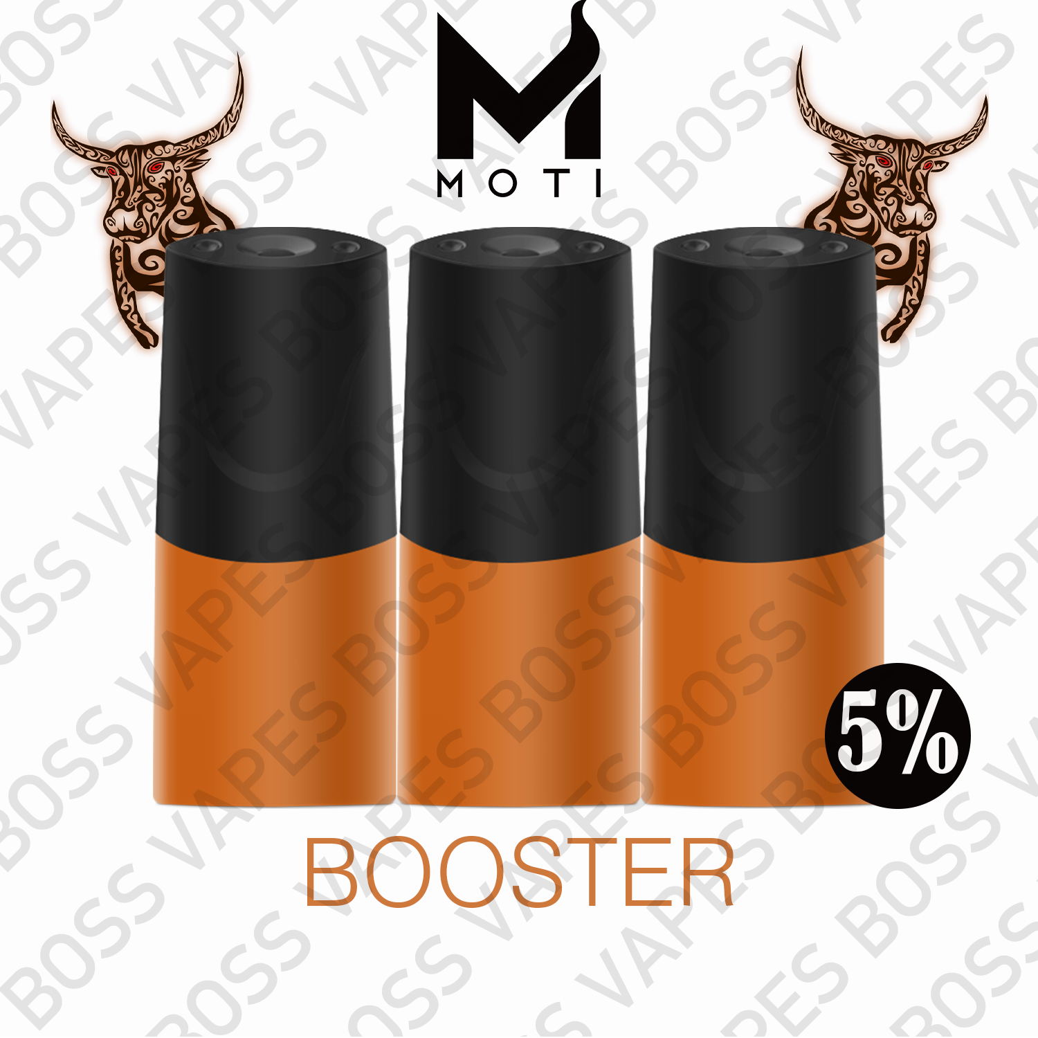 Moti Prefilled Pods - 3 Pack - Boss Vapes