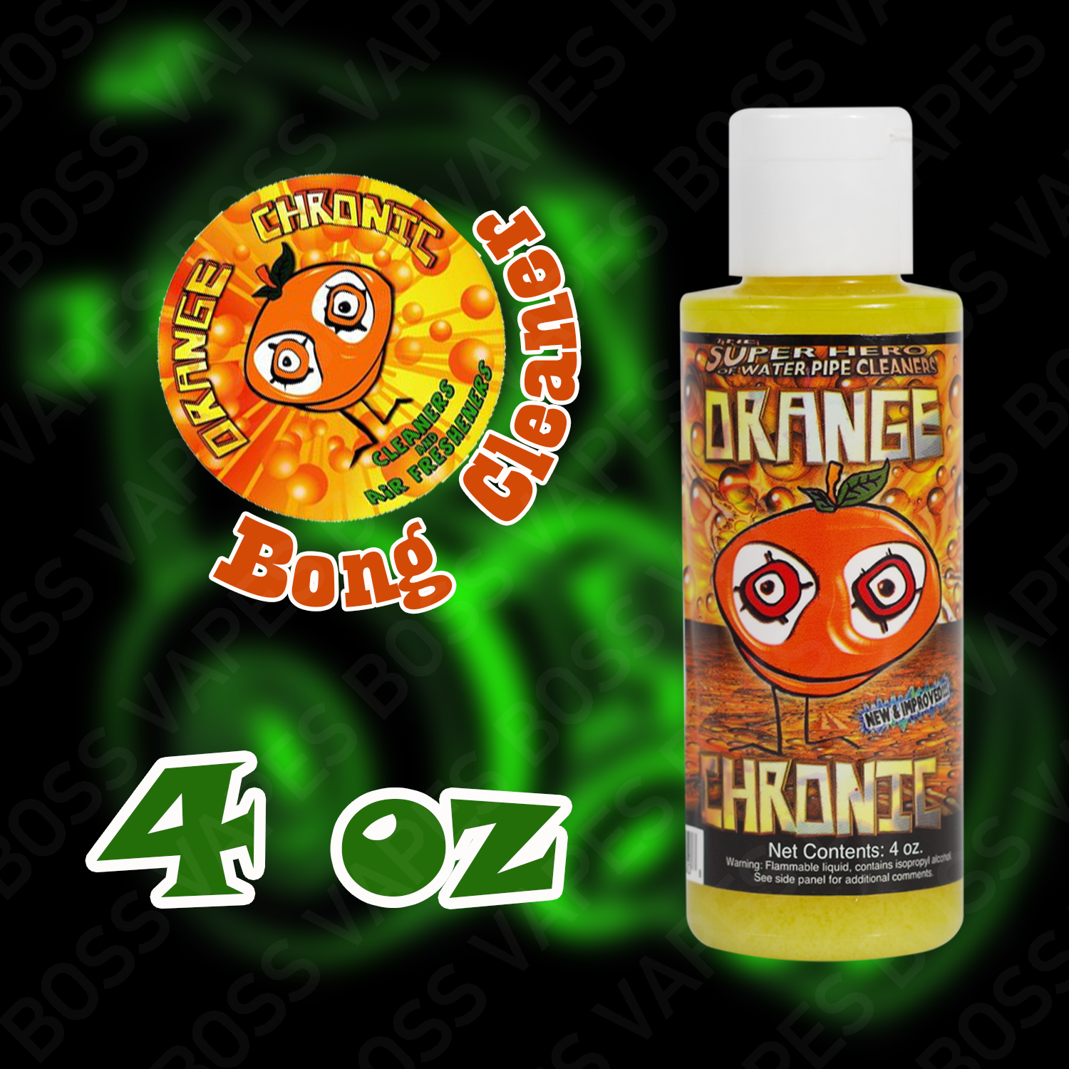 Orange Chronic Cleaner - Boss Vapes