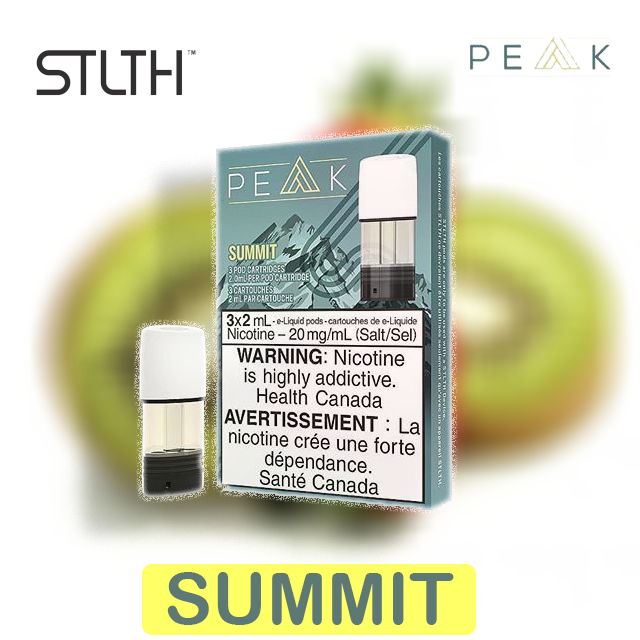 Stlth Peak Pods (3pack) BC Compliant - Boss Vapes
