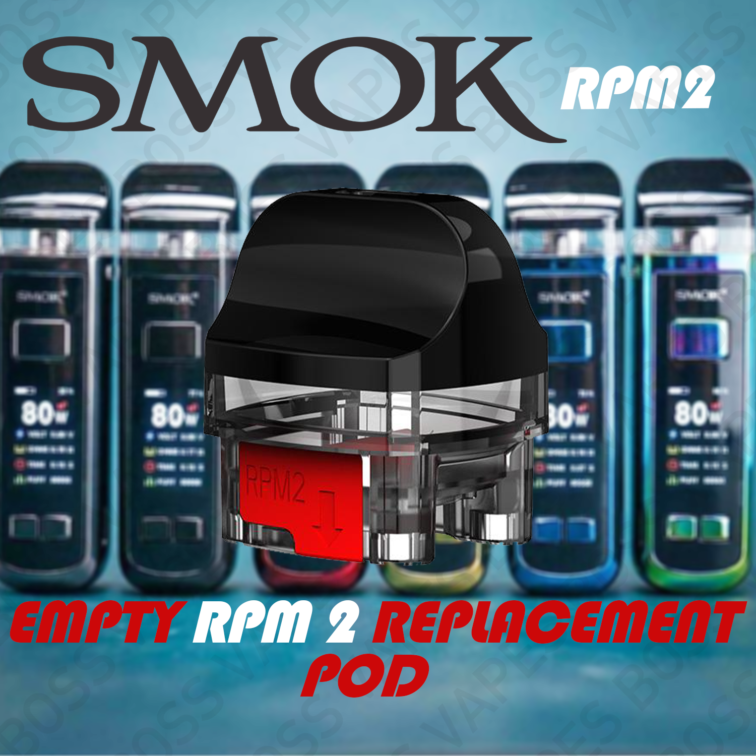 SMOK RPM 2 EMPTY POD (Priced Individually)