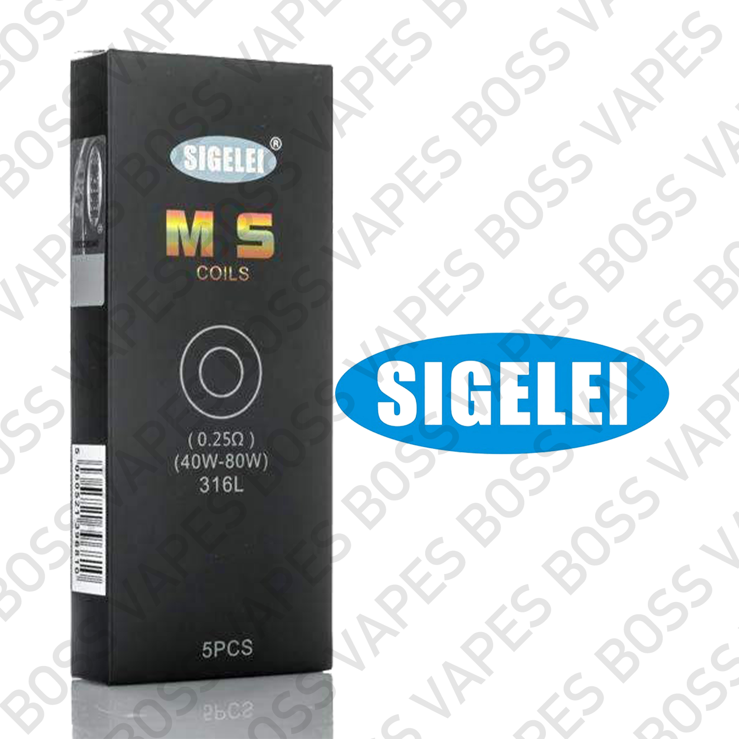 SIGELEI MS REPLACEMENT COILS (Price Per Coil) - Boss Vapes