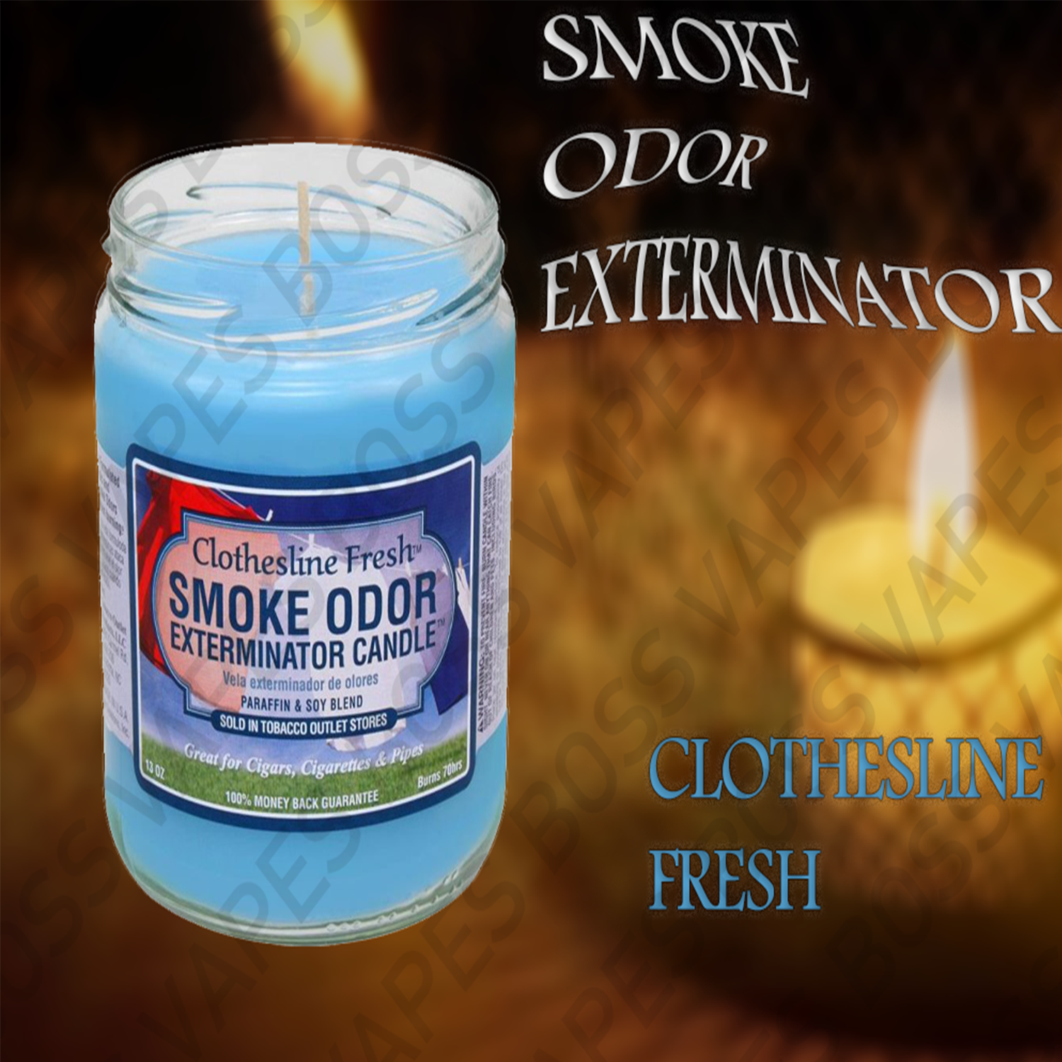Smoke Odor Exterminator Candles - 13oz
