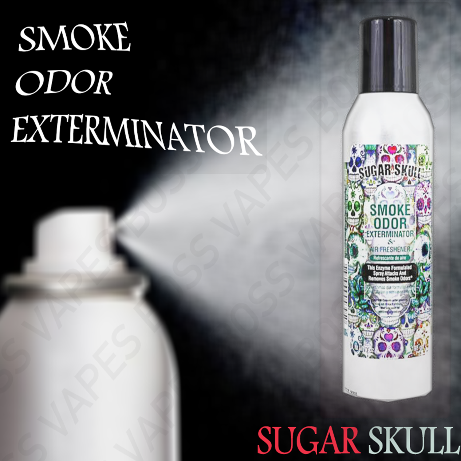 Smoke Odor Exterminator Spray - 7oz - Boss Vapes