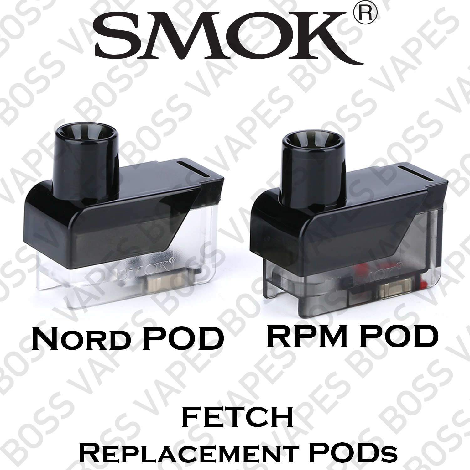 SMOK FETCH POD (COILS NOT INCLUDED) Price Per Pod