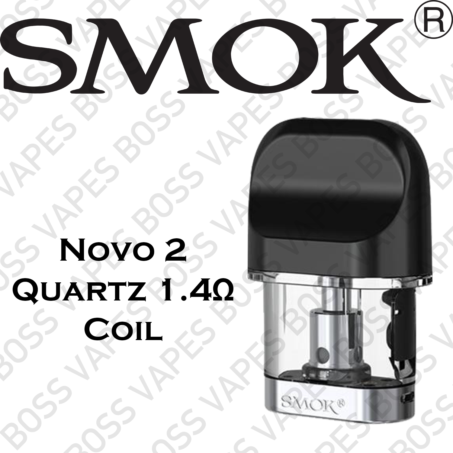 SMOK Novo 2 PODs (Price Per POD) - Boss Vapes
