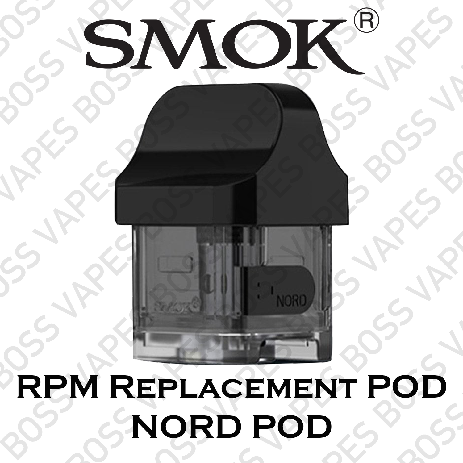 RPM Replacement POD (Price Per POD) - Boss Vapes