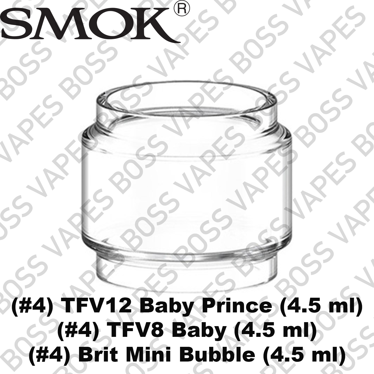 SMOK Replacement Glass