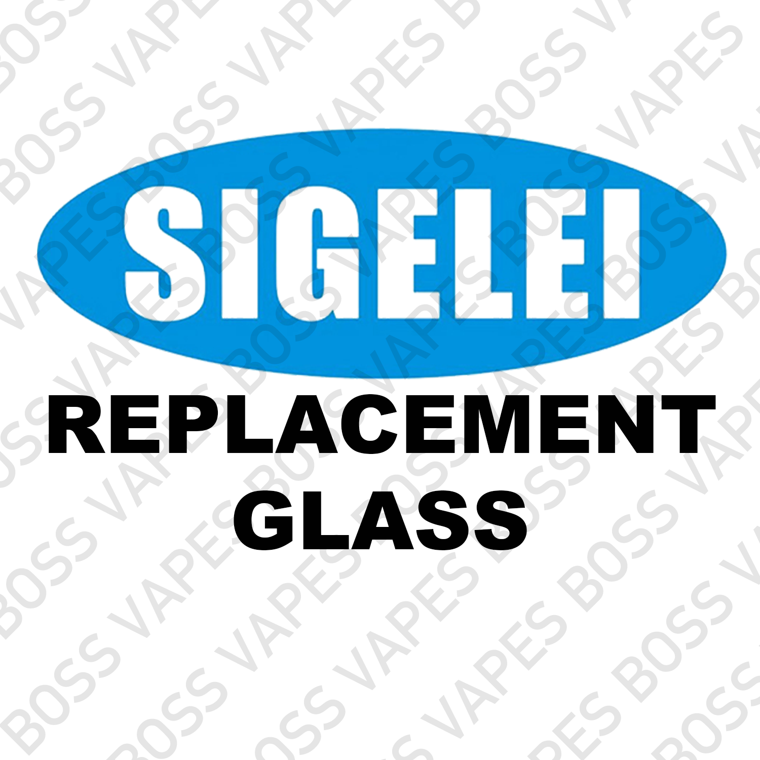 SIGELEI Replacement Glass - Boss Vapes