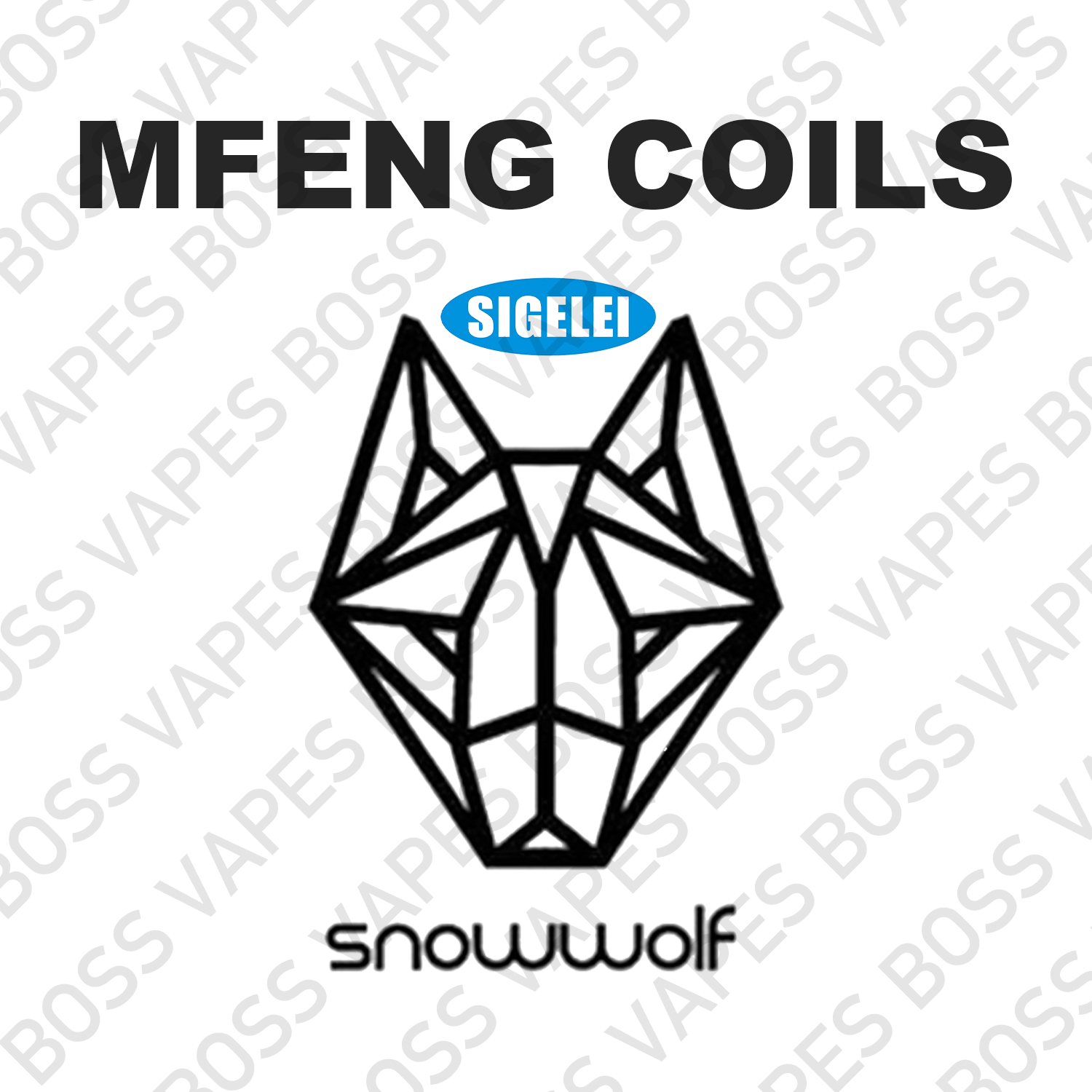 SIGELEI SNOWWOLF MFENG WF REPLACEMENT COILS (Price Per Coil) - Boss Vapes