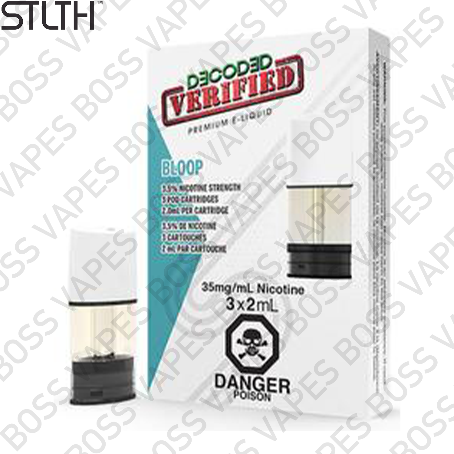 Stlth PODs (Pods Priced Individually) - Boss Vapes