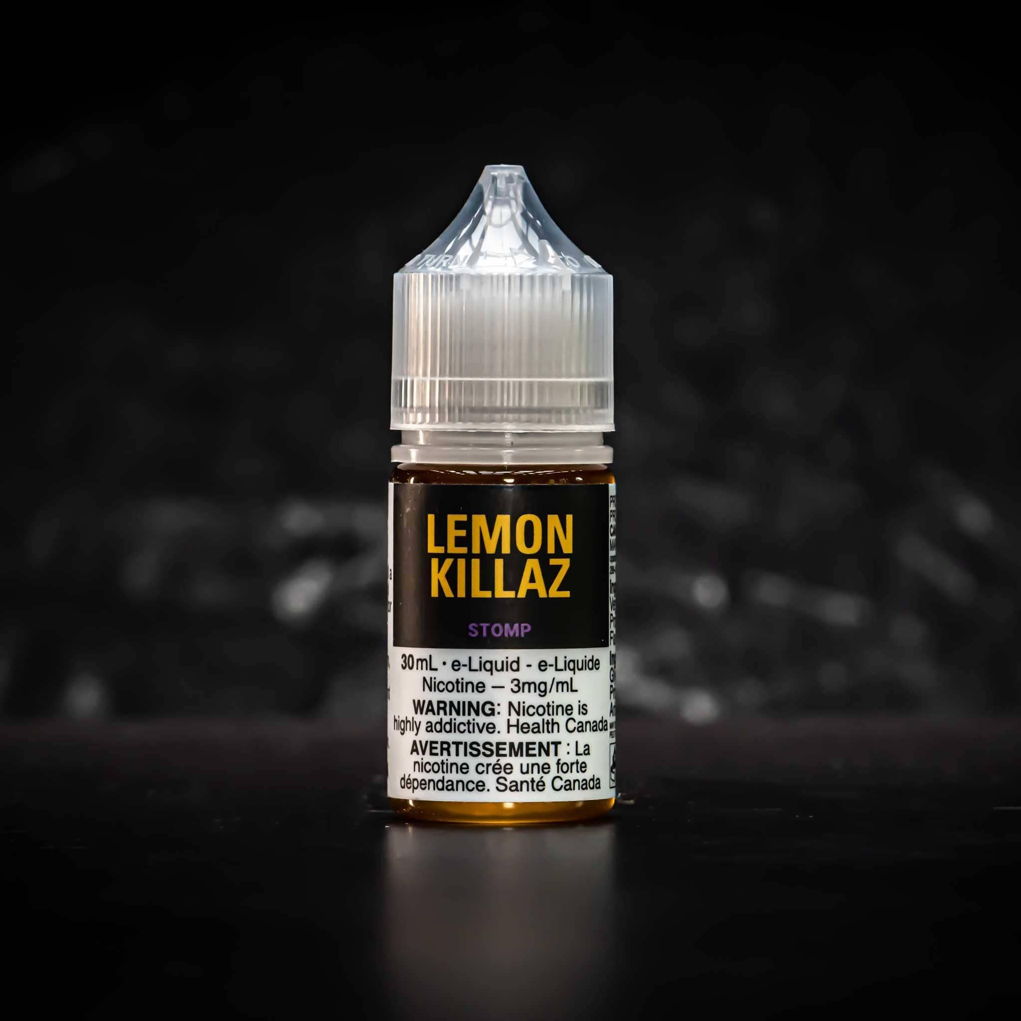 Lemon Killaz (BC Compliant) - Boss Vapes