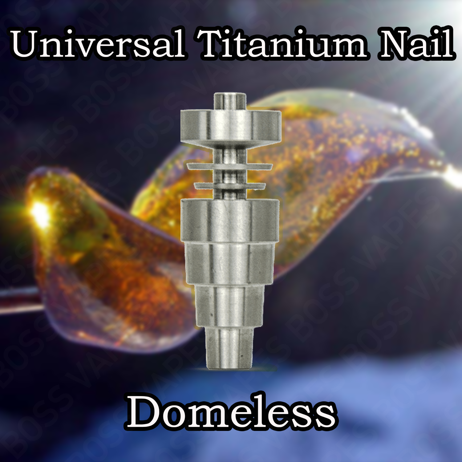 6-In-1 Universal Titanium Nail For E-Nails - Boss Vapes