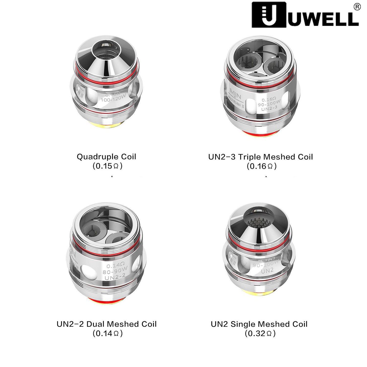 UWELL VALYRIAN 2 REPLACEMENT COIL (Price Per Coil)