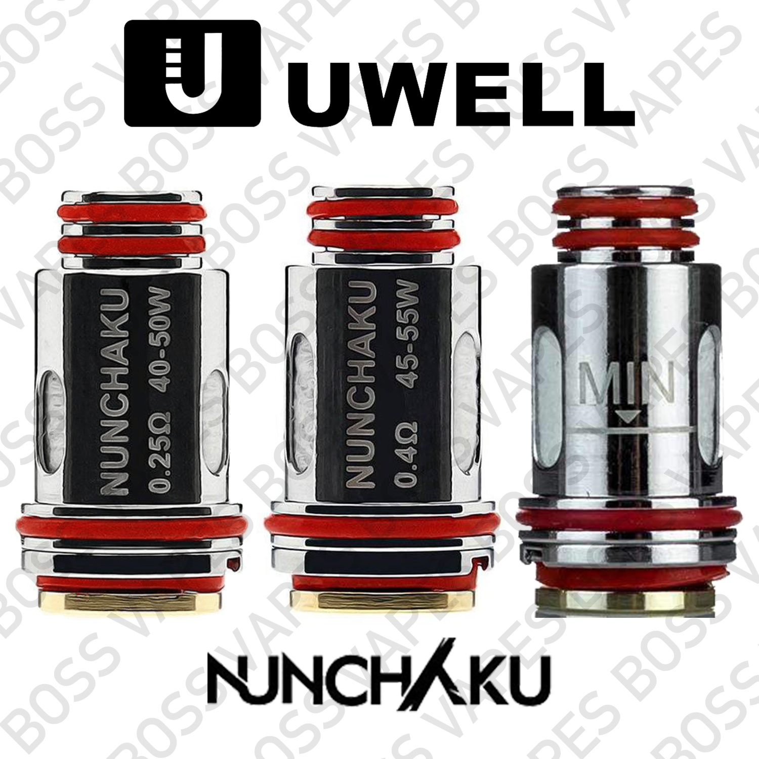 UWELL NUNCHAKU COILS (Price Per Coil)