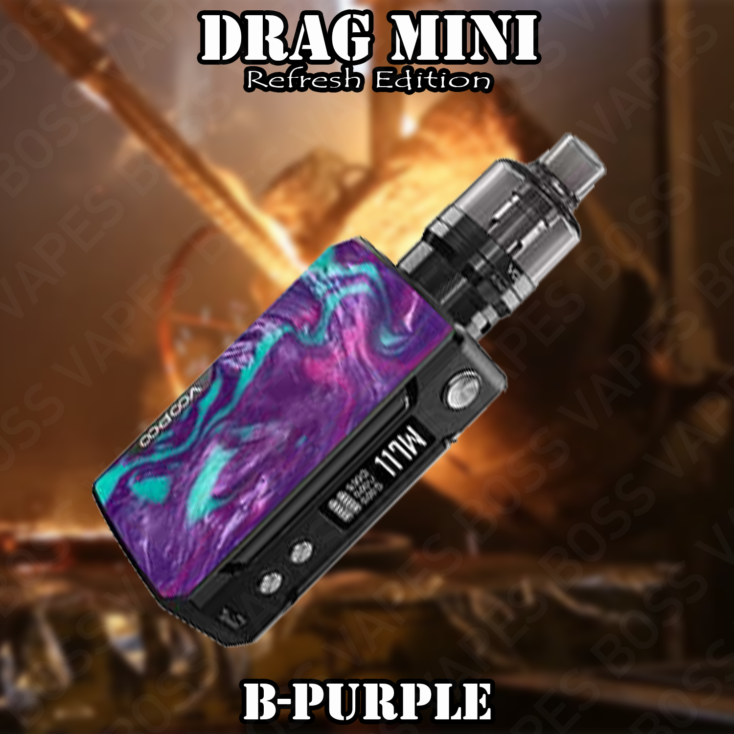 VOOPOO DRAG MINI REFRESH EDITION KIT WITH PNP TANK - Boss Vapes