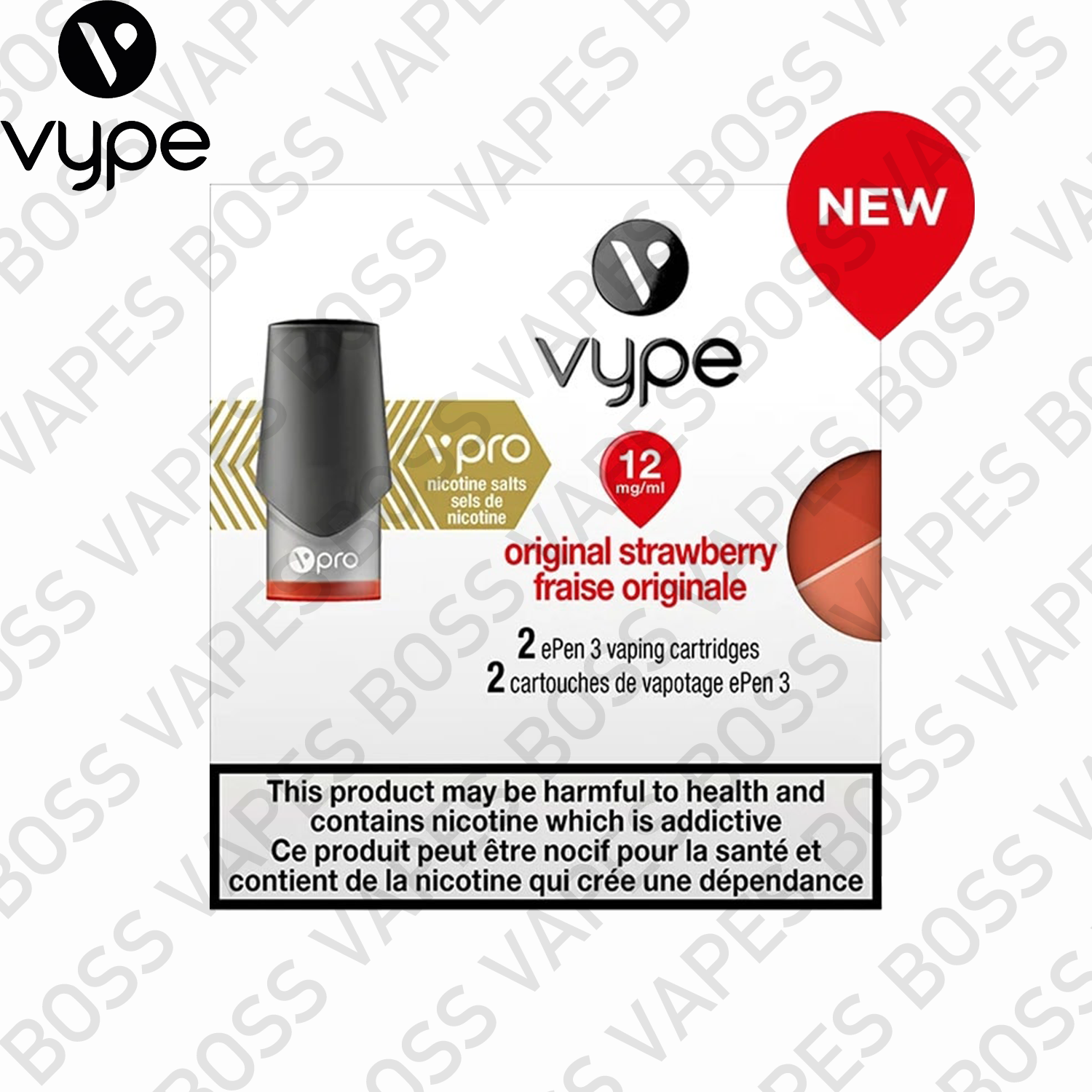 VYPE EPEN3 VPRO PODS (PRICE PER PACK OF 2)