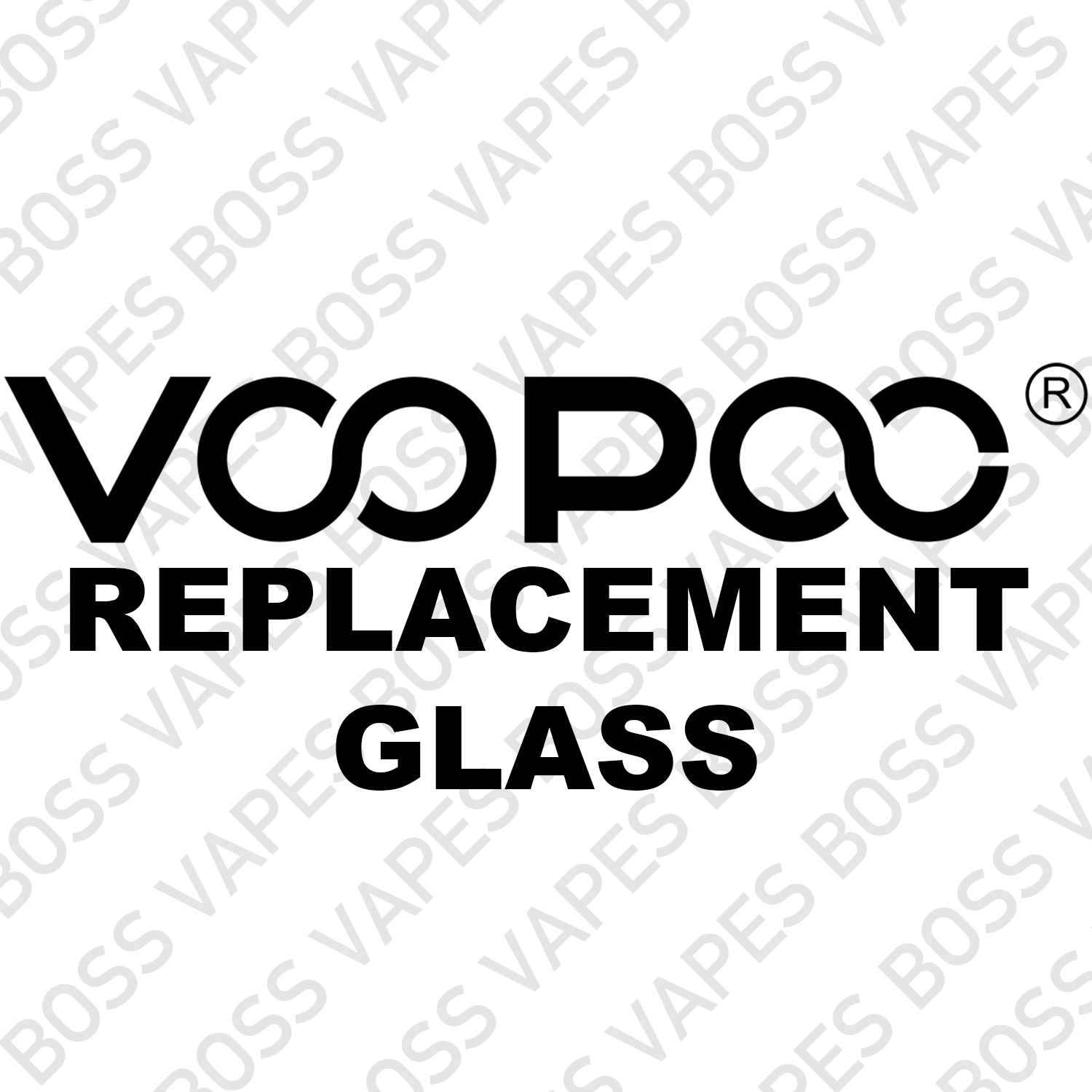 Voopoo Replacement Glass - Boss Vapes