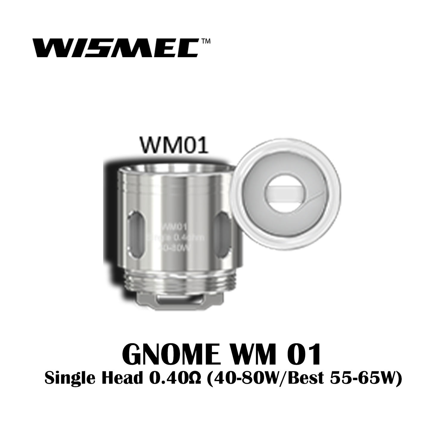 WISMEC GNOME REPLACEMENT COILS (Price Per Coil) - Boss Vapes