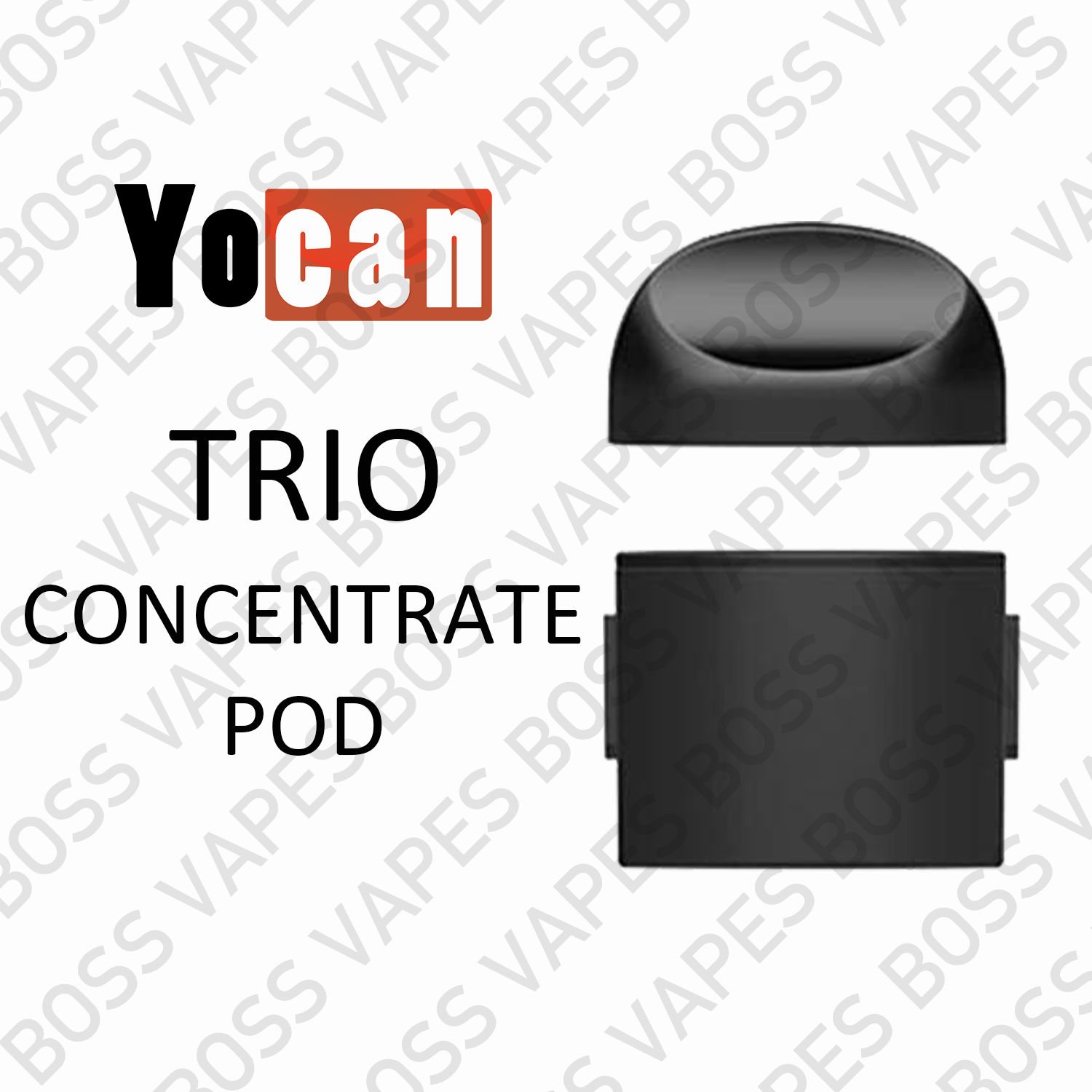 YOCAN TRIO REPLACEMENT POD (PODS PRICED INDIVIDUALLY) - Boss Vapes