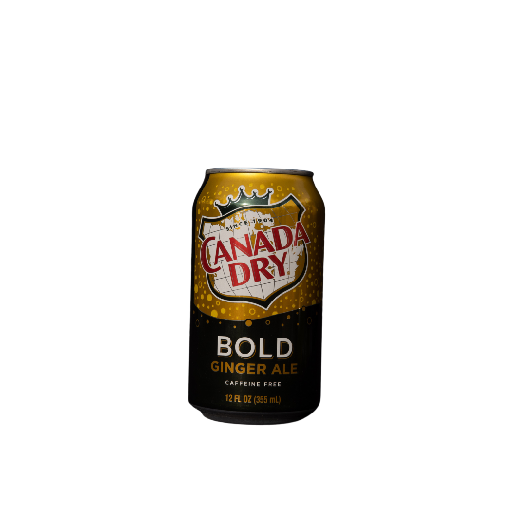 Canada Dry Bold Ginger Ale 355 ml Can (American) Caffeine Free