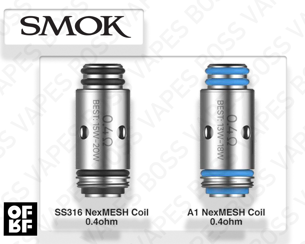 SMOK & OFRF NEXMESH REPLACEMENT COIL (Priced Individually) - Boss Vapes
