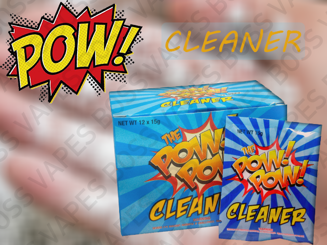 The Pow Pow Powder Cleaner - Priced Individual Pouches - Boss Vapes