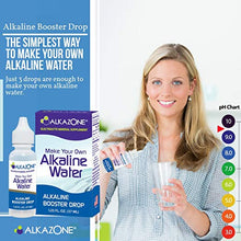 Load image into Gallery viewer, ALKAZONE Make Your Own Alkaline Water - Alkaline Booster Drop 1.25 oz/Single