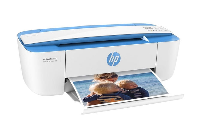 HP DeskJet 3720 All-in-One InkJet Printer Copier Scanner T8W54A#B1H
