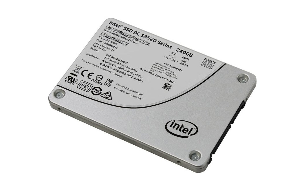 Intel 240GB Dc S3520 Sata 3.0 6GB/s Internal Solid State Drive SSDSC2BB240G701