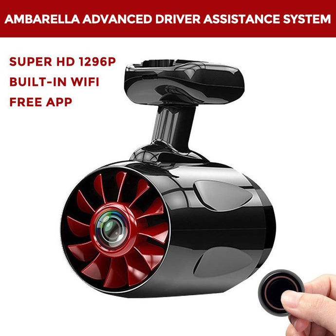 1296P Super HD Dashboard Camera And Built-in WiFi with APP