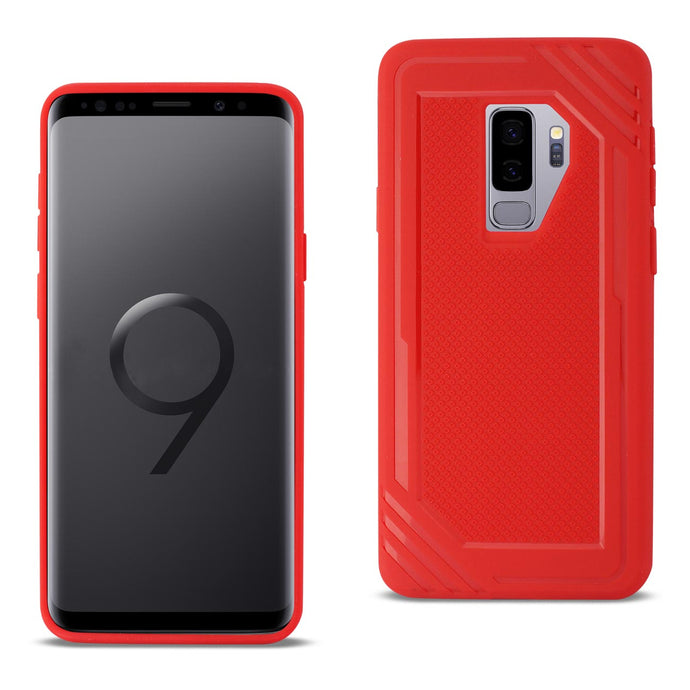 Samsung Galaxy S9 Plus Slim-Fit Soft TPU Rubber Bumper Anti-Slip Grip Protective Armor