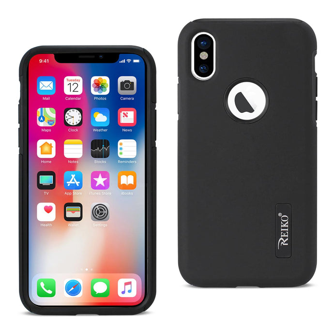 iPhone X/iPhone XS SOLID ARMOR DUAL LAYER PROTECTIVE CASE