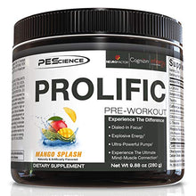 Load image into Gallery viewer, Physique Enhancing Science 20 Serve Prolific, Mango Splash, 9.88 Ounce