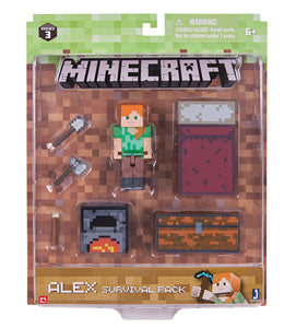 Minecraft Alex Survival Pack