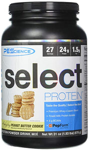 PEScience Select Protein, 27 Servings, Premium Whey and Casein Blend, 31 oz