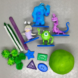 Sensory dough play kit