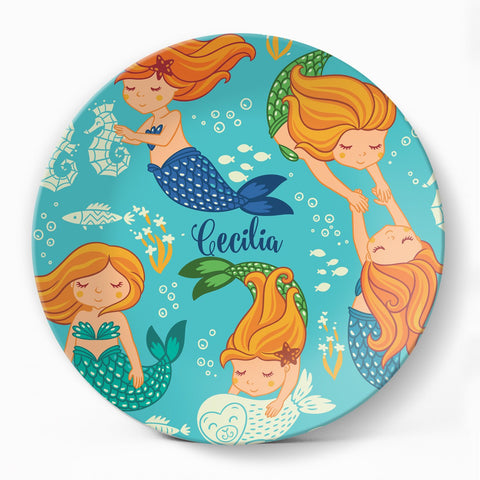 Mermaids Plate - milogiftshop