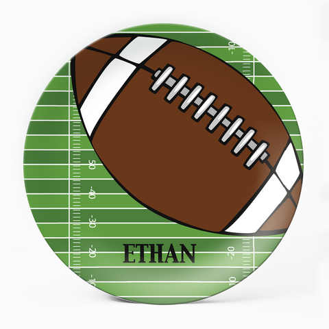 Football Plate - milogiftshop