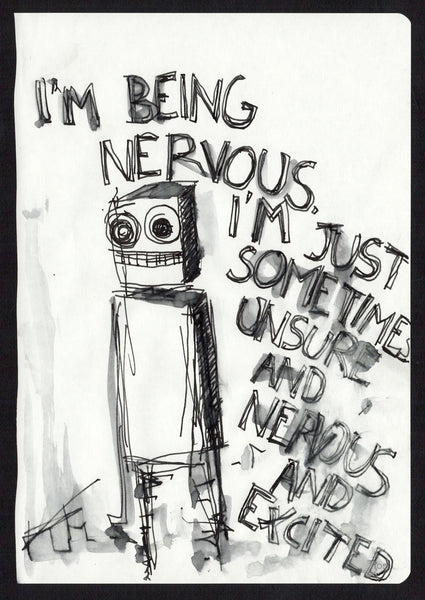 Being nervous