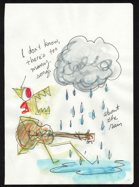 too many songs about the rain