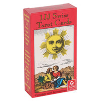 IJJ Swiss Tarot Cards. 78 card pack including detailed instruction booklet designed by Stuart R. Kaplan, America's leading Tarot authority.