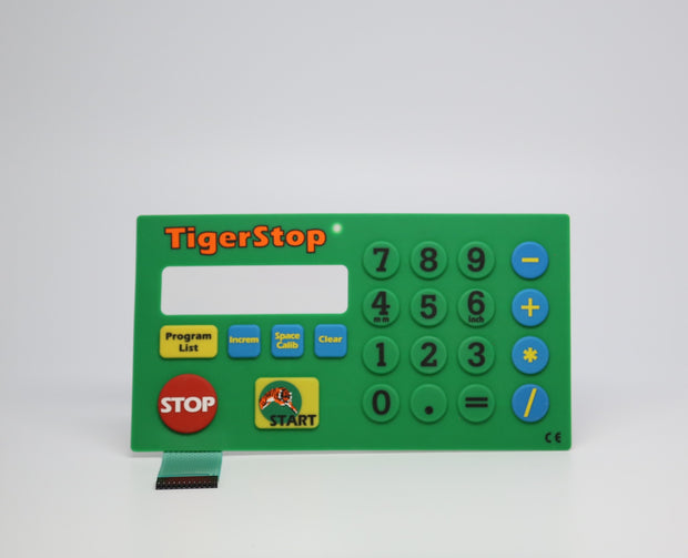 tigerstop version 4 keypad membrane