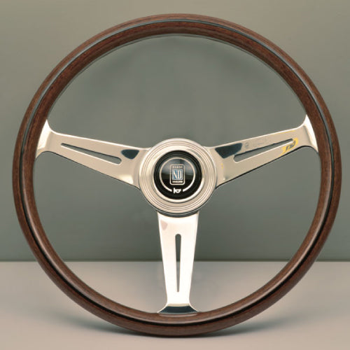 Nardi ND Classic Steering Wheel - Wood Polished Spokes 360mm