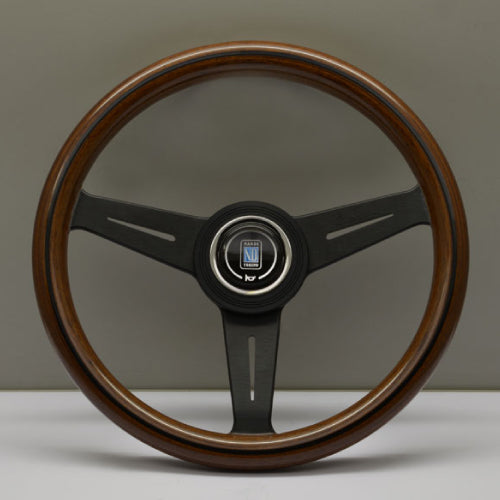 Nardi ND Classic Steering Wheel - Wood Black Spokes 330mm