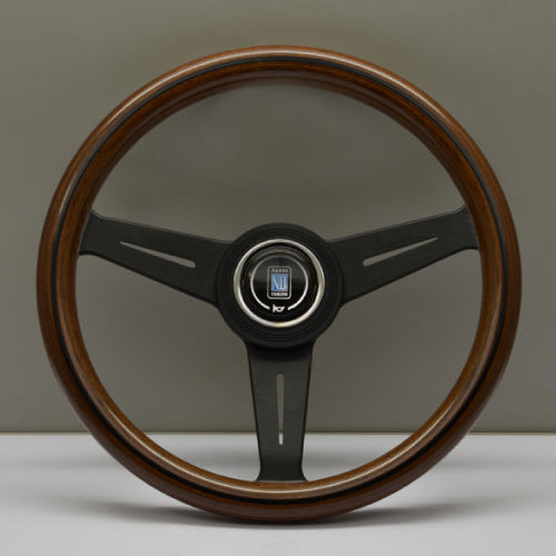 Nardi ND Classic Steering Wheel - Wood Black Spokes 340mm