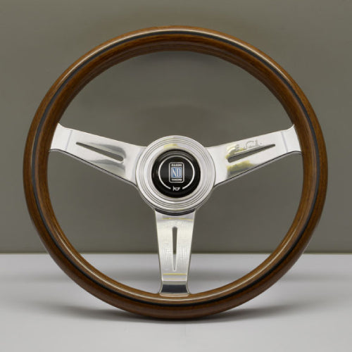 Nardi ND Classic Steering Wheel - Wood Polished Spokes 330mm
