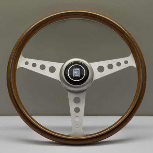 Nardi ND Classic Steering Wheel - Wood Satin Spokes 360mm
