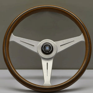 Nardi ND Classic Steering Wheel - Wood Satin Spokes 390mm