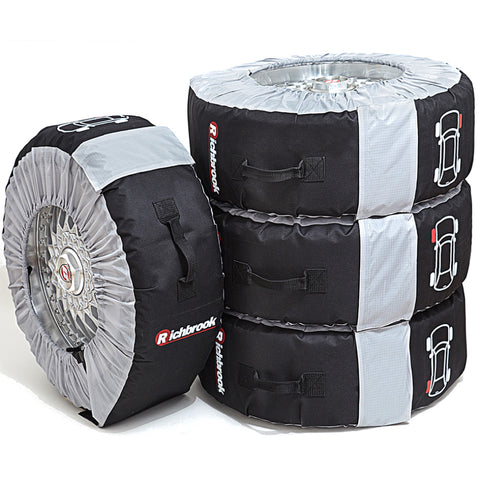 richbrook wheel & tyre bags – set of 4